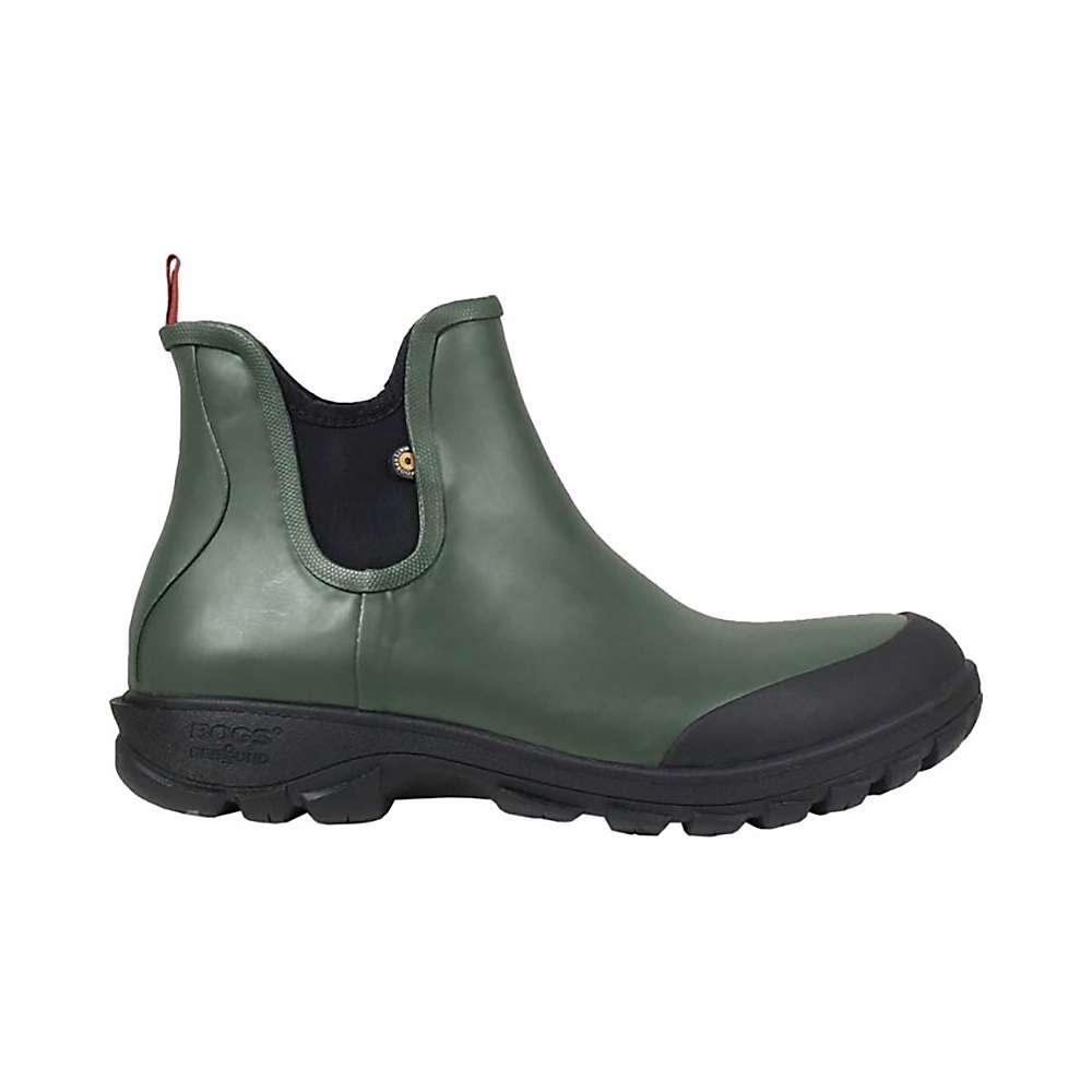 Bogs Sauvie Slip-On Boot (Dark Green) Mens Rain Boots Factory Price RFe8N545