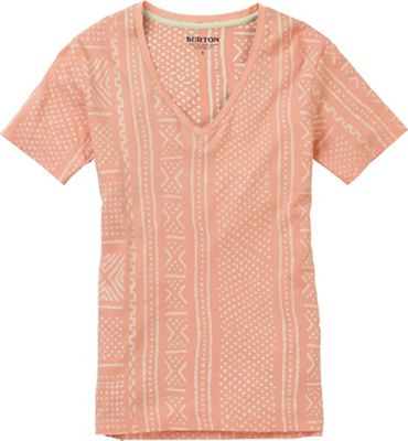 Burton Women's Carta V Neck SS Tee