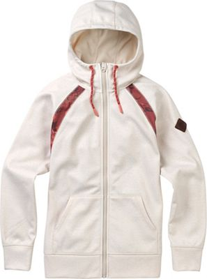 Burton Women's Crown Bonded Full Zip Hoodie