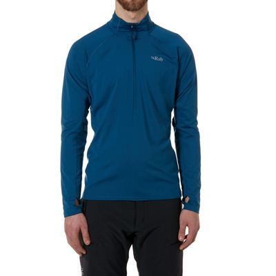 Rab Men's Flux Pull On Fleece Top