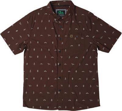 HippyTree Men's Motif Woven SS Shirt