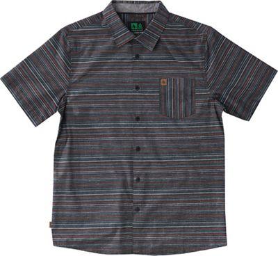 HippyTree Men's Pinline Woven SS Shirt