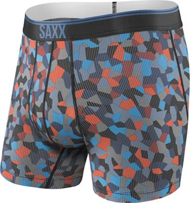 SAXX Men's Quest 2.0 Printed Boxer Brief