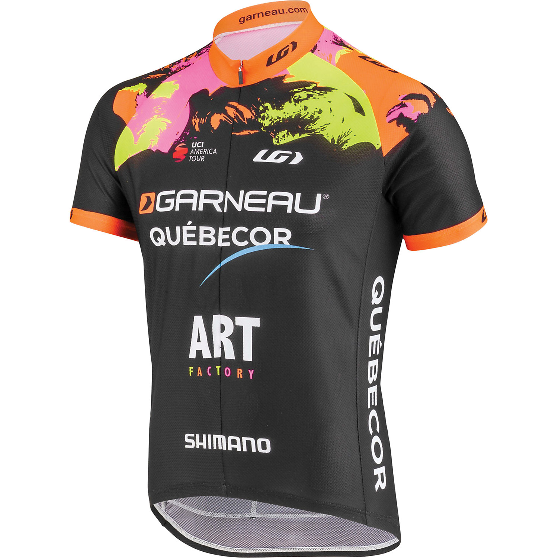 40bfc9641 Mens Short Sleeve Cycling Jerseys. Louis Garneau Men s Equipe Pro Replica 2  Jersey