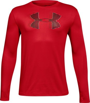 Under Armour Boys' UA Tech Big Logo LS Tee