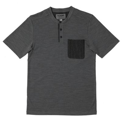 Chrome Industries Men's Merino SS Henley