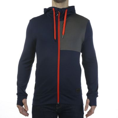 Mons Royale Men's Mid-Hit Full Zip Thermal Hoody