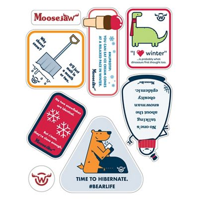 Moosejaw Sticker Sheet