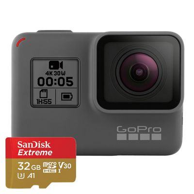 GoPro HERO5 Black Camera with 32GB SD Card