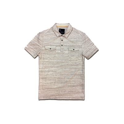 Jeremiah Men's Colson Spacedye Heather Snap Polo Shirt