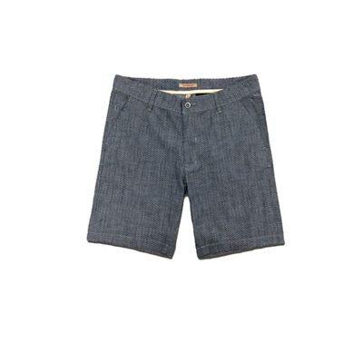 Jeremiah Men's Matheus Printed Chambray Short