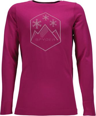 Spyder Girls' Crest Base Layer Top