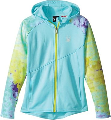 Spyder Girls' Crush Hoody Fleece Jacket