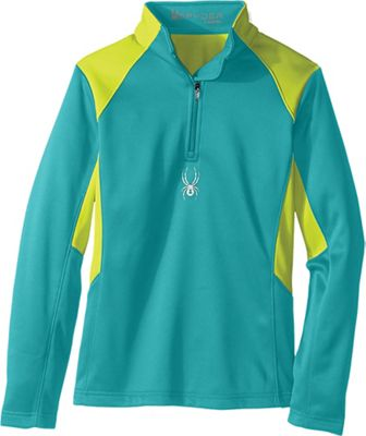 Spyder Girls' Savona Therma Stretch Fleece Pullover Top