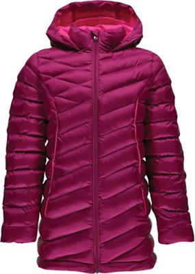 Spyder Girls' Timeless Long Synthetic Down Jacket