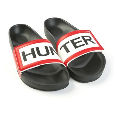 Hunter Men's Orginal Adjustable Logo Slide