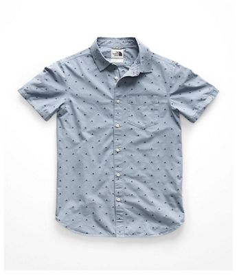 The North Face Men's Bay Trail Jacquard SS Shirt