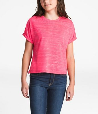 The North Face Girls' Long And Short Of It Tee