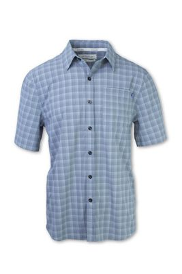 Purnell Men's 4-Way Stretch Quick Dry Plaid Shirt