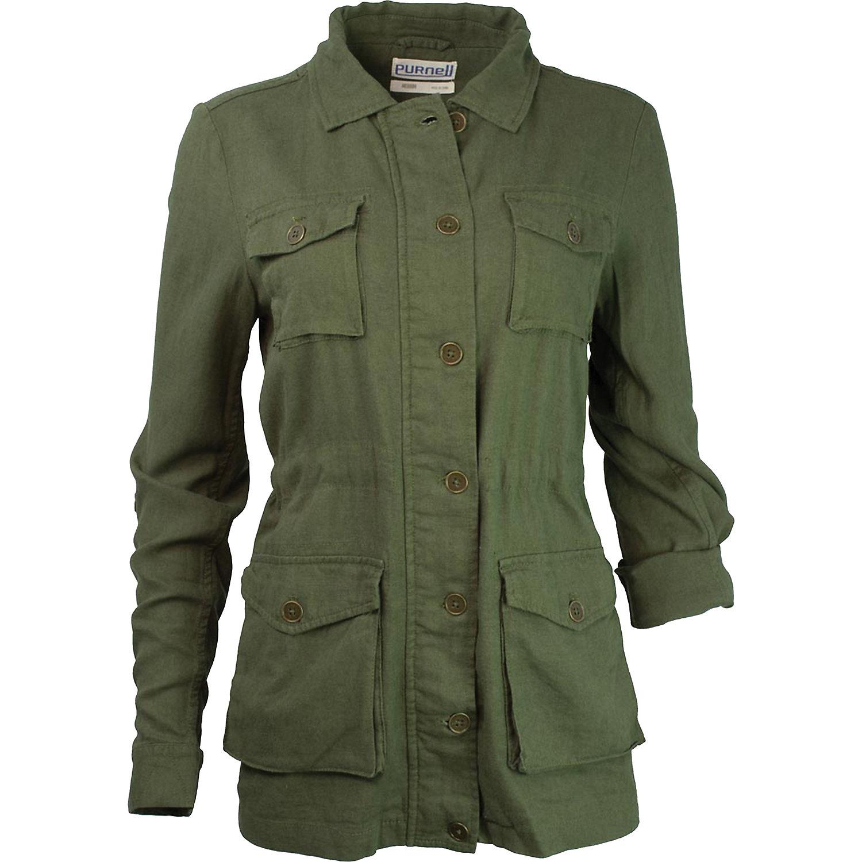 Purnell Women's Linen Field Jacket ...