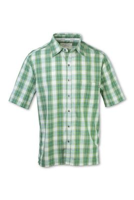 Purnell Men's Madras Plaid SS Shirt