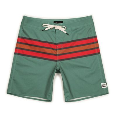 Brixton Men's Barge Stripe Swim Trunk