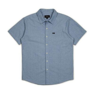 Brixton Men's Charter Oxford SS Shirt