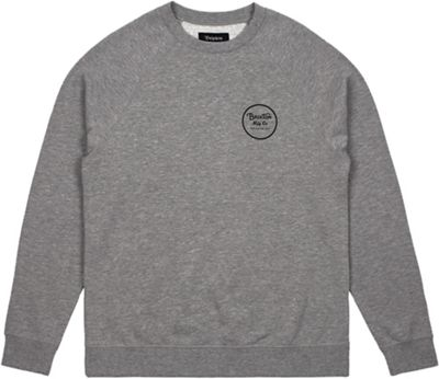 Brixton Men's Wheeler Fleece Crew Sweatshirt