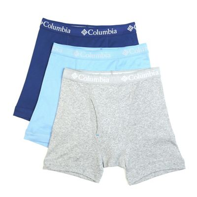 Columbia Men's Pure Cotton Boxer Brief - 3 Pack