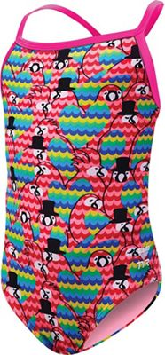 TYR Girl's Lovebird Diamondfit One Piece