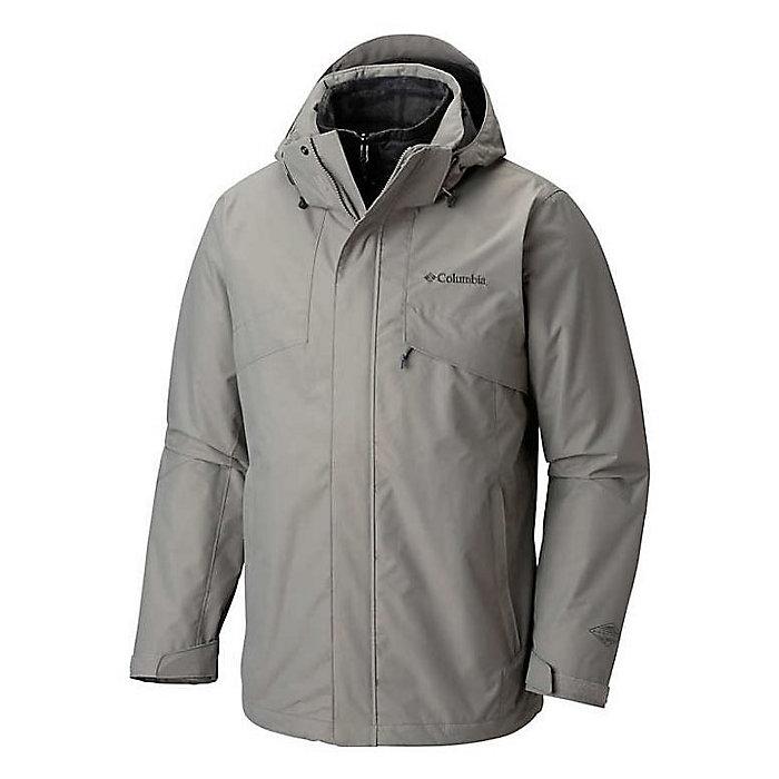 Grey COLUMBIA Men/'s Bugaboo II Fleece Interchange 3-in-1 Jacket Omni-Heat Gray