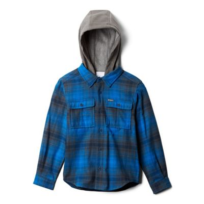 Columbia Youth Boulder Ridge Flannel Hoodie