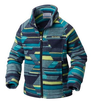 Columbia Toddler's's Girls Benton Springs II Printed Fleece Top