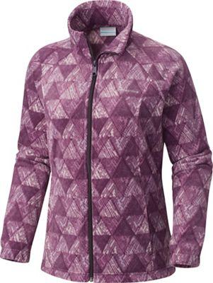 Columbia Women's Benton Springs Printed Full Zip Jacket