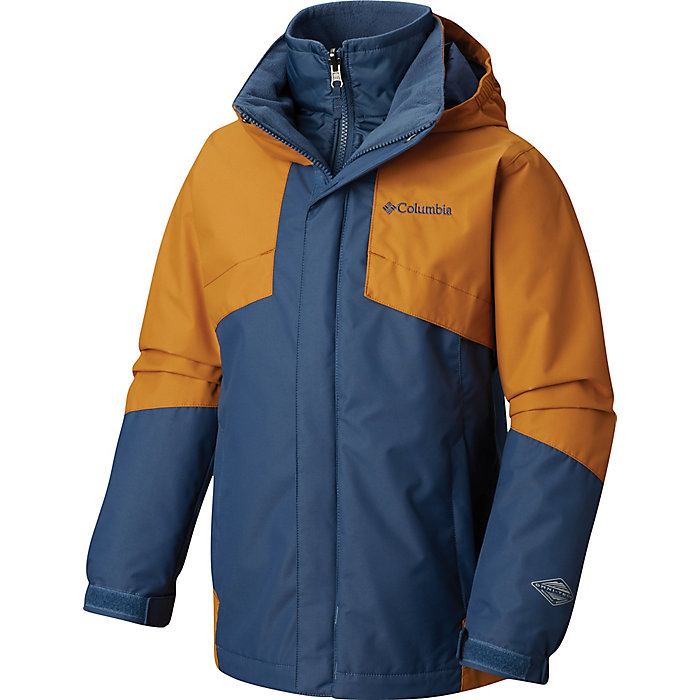 501415b45f4 Columbia Youth Boys Bugaboo II Fleece Interchange Jacket - Moosejaw