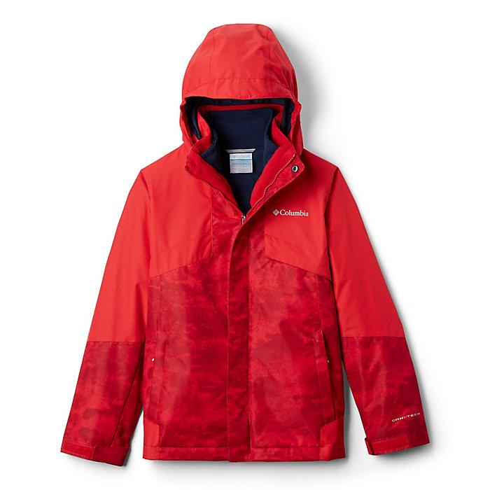 Columbia Kids Boys Watertight/¿ Jacket Red Spark//Dark Mountain Small Little Kids//Big Kids