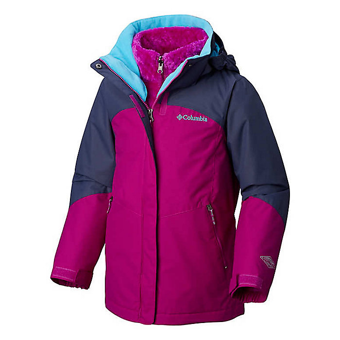 a9604c16fdc Columbia Youth Girls Bugaboo II Fleece Interchange Jacket - Moosejaw