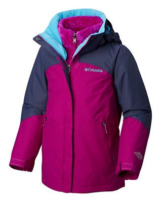e41e109fa Columbia Youth Girls Bugaboo II Fleece Interchange Jacket