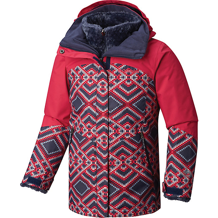 69225d21f9a Columbia Youth Girls Bugaboo II Fleece Interchange Jacket - Moosejaw