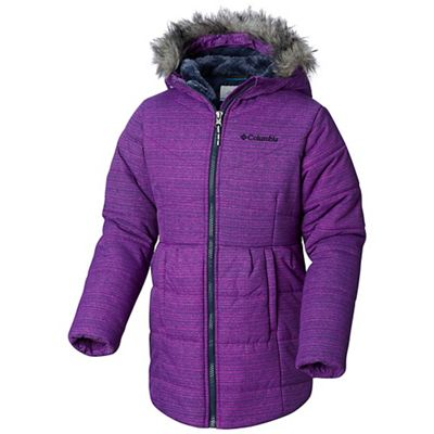 Columbia Youth Girls Crystal Caves Mid Jacket