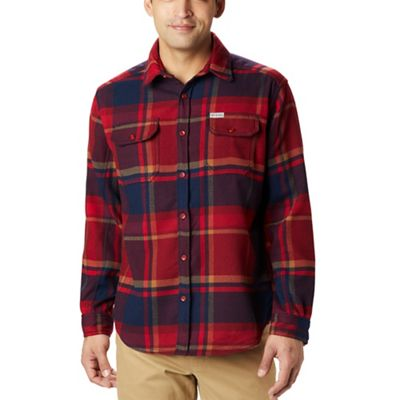 Columbia Men's Deschutes River Heavyweight Flannel Shirt