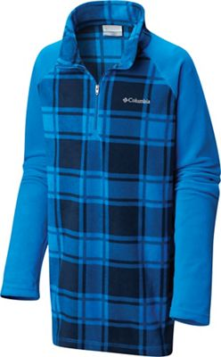 Columbia Youth Boys Glacial III Fleece Printed Half Zip Top