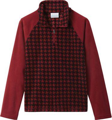 Columbia Youth Boys Glacial III Fleece Printed Half Zip Top