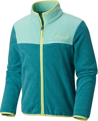 Columbia Youth Mountain Crest Fleece Full Zip Top