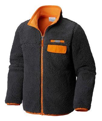 Columbia Youth Mountain Side Heavyweight Full Zip Fleece Top