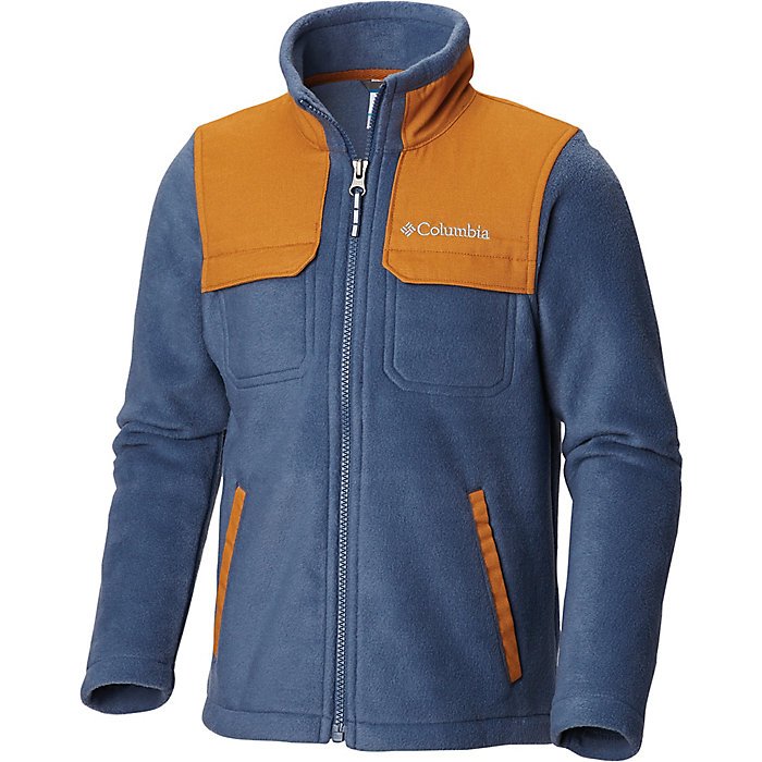 95cb5916f Columbia Youth Boys Steens Mountain Novelty Full Zip Fleece Jacket ...