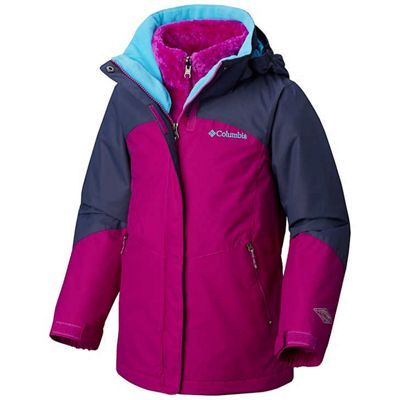 Columbia Youth Girls Whirlibird II Interchange Jacket