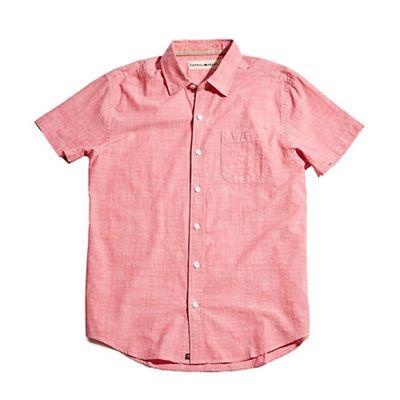 The Normal Brand Men's Slub Cotton Short Sleeve Woven