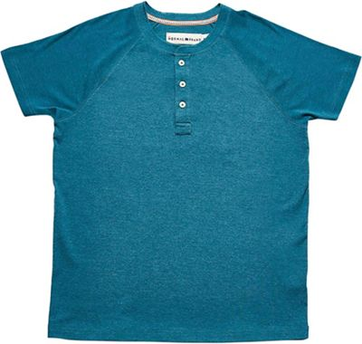 The Normal Brand Men's Short Sleeve Puremeso Henley