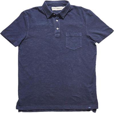 The Normal Brand Vintage Men's Slub Short Sleeve Pocket Polo